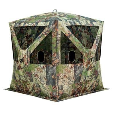 Big Cat 350 3-Person Hub Blind Backwoods in Camo