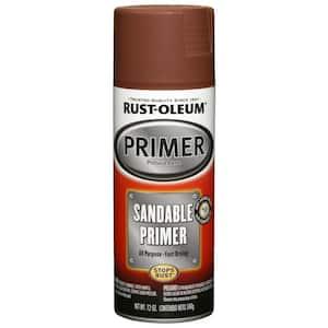 12 oz. Red Sandable Primer Spray (6-Pack)