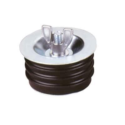 2 in. Metal Wingnut Test Plug (Case of 36)