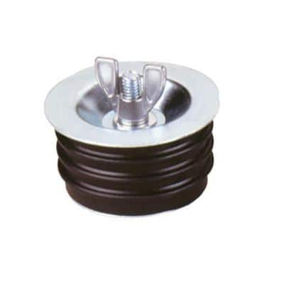 4 in. Metal Wingnut Test Plug (Case of 36)