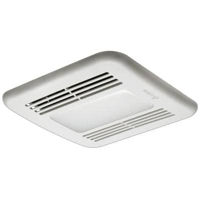GreenBuilder 100 CFM Ceiling Bathroom Exhaust Fan with Dimmable LED Light, ENERGY STAR (3-Pack)