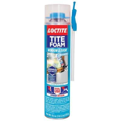 Tite Foam Dual Use Pro Can Window and Door 19.6 oz. Spray Foam Sealant