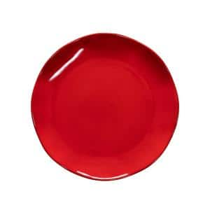 Cook and Host Ruffled Red Dinner Plate (Set of 6)