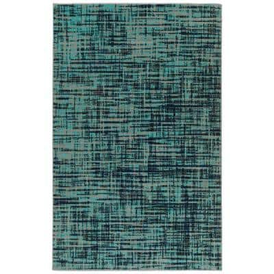 Kaleen Zuma Beach Turquoise 2 Ft X 3 Ft Indoor Outdoor Area Rug Zum04 78 23 The Home Depot