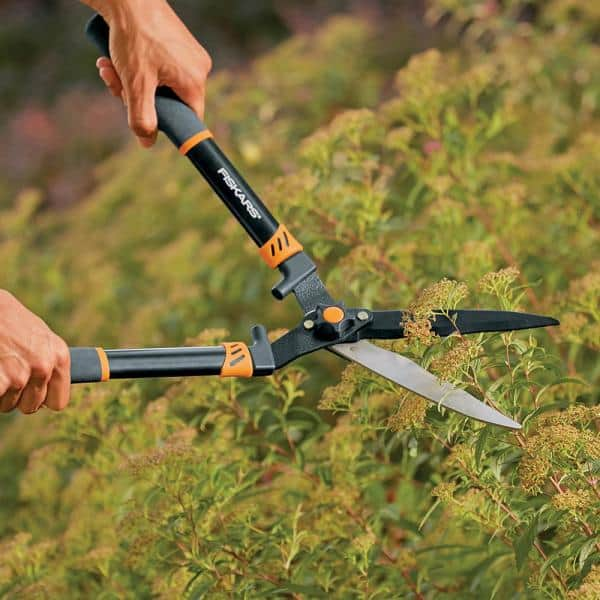"""254mm Extending Handle Hedge Bush Shears Trimmers Cutters Soft Grip 10/"""""""
