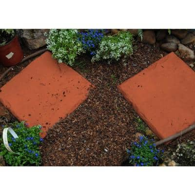 Lawn Stepping Stones in Buttercup (4-Pack)