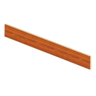 Paradise Jatoba 94 in. Length x 1/2 in. Deep x 7-3/8 in. Height Laminate Riser to be Used with Cap A Tread