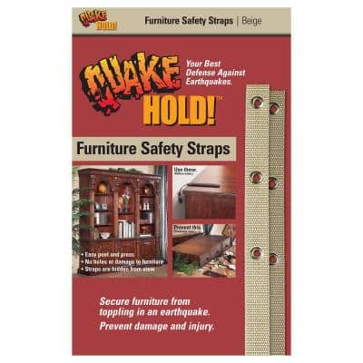 Beige Furniture Safety Strap