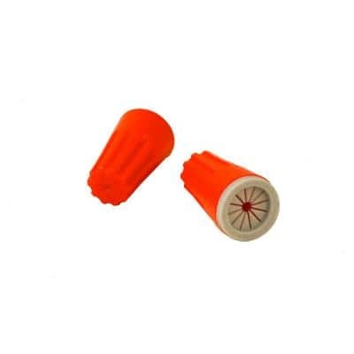 Silicone Filled Waterproof Wire Nut Connectors for Landscape Lighting Installation (50 per Bag)