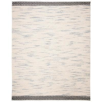 Natura Black/Ivory 8 ft. x 10 ft. Abstract Area Rug