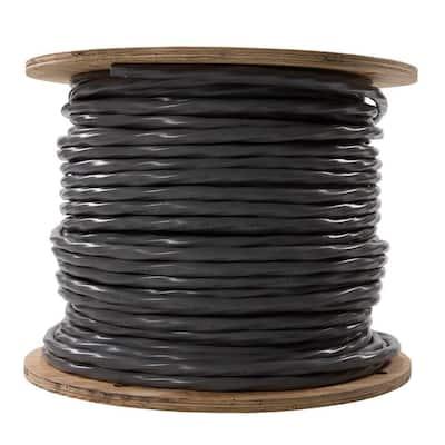 500 ft. 4-4-4-6 Gray Stranded AL SER Cable