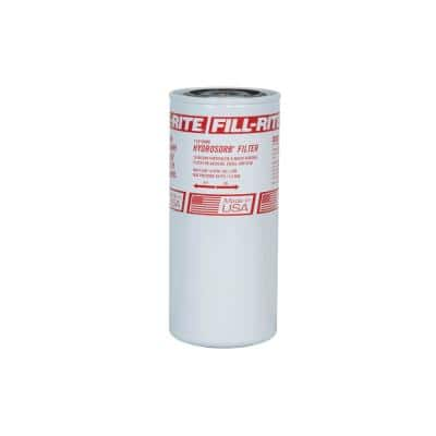 1 in.18 GPM 10 Micron Hydrasorb Spin On Fuel Filter