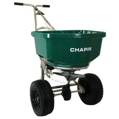 80 lbs. A-Frame Professional Spreader with Side Baffles