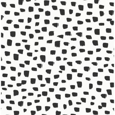 Speckled Dot Abstract 20.5 in. x 18 ft. Peel and Stick Wallpaper