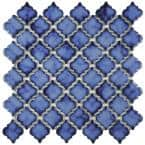 Hudson Tangier Sapphire 12 in. x 12 in. Porcelain Mos (10.96 sq. ft. / Case)