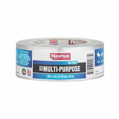 1.89 in. x 50 yd. 322 Multi-Purpose HVAC Foil Duct Tape