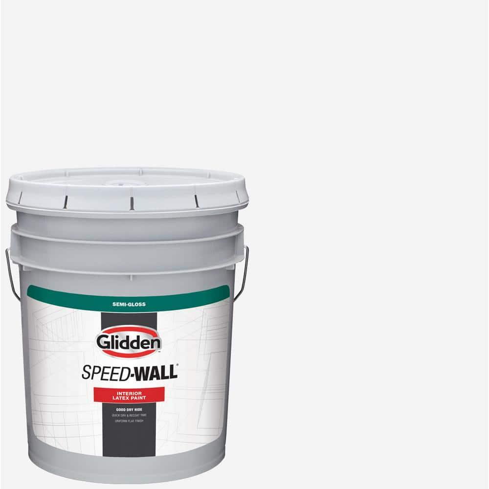 Glidden Professional 5 gal. Antique White Semigloss Interior Latex Paint