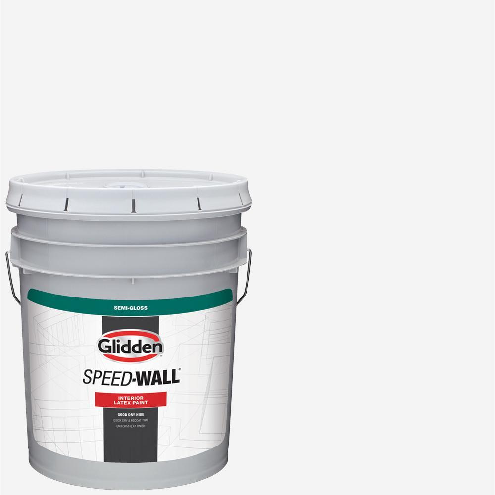 5 gal. Speed-Wall Semi-Gloss Interior Paint