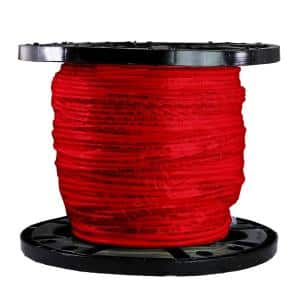 500 ft. 8 Gauge Red Stranded CU THHN Wire