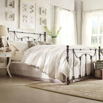 Dorado Bronzed Black Queen Poster Bed