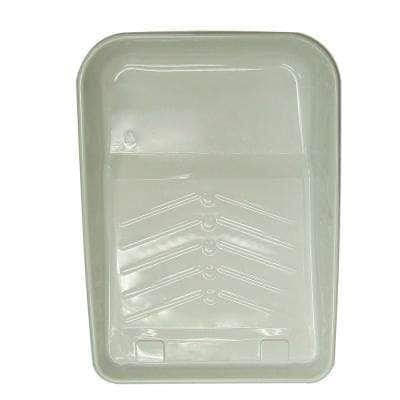 9 in. Plastic Deep Well Tray Liner