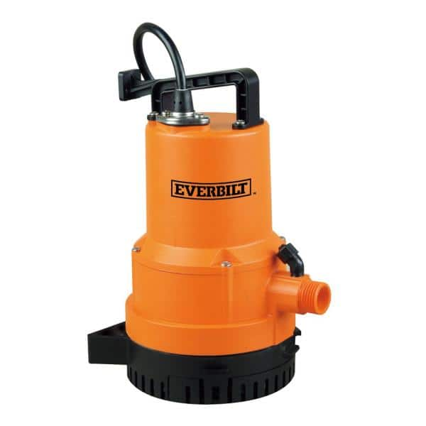 Everbilt 1 4 Hp 2 In 1 Utility Pump Uta02510 The Home Depot