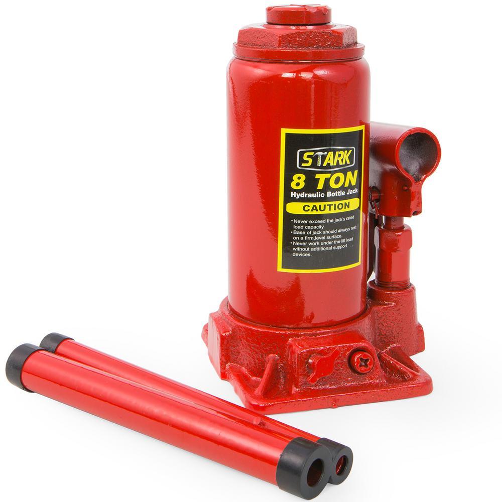 8-Ton Hydraulic Steel Bottle Jack