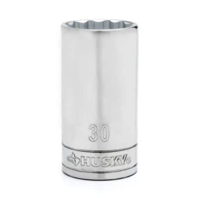 "1/2"" Drive 12 Point Deep Metric Socket 30mm"