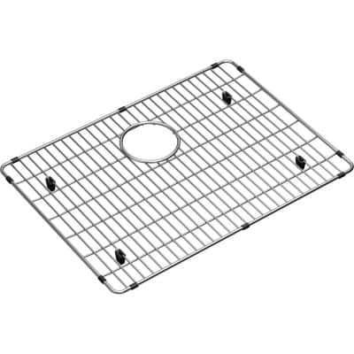 Crosstown 21 in. x 15.25 in. Bottom Grid for Kitchen Sink in Stainless Steel