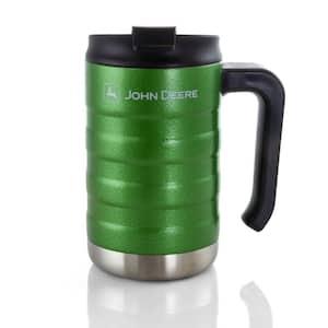 17 oz. Green Stainless Steel Thermal Travel Mug