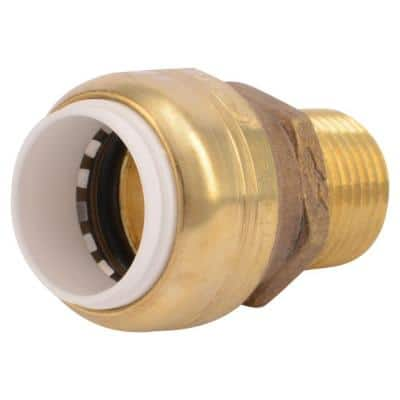 1/2 in. Push-to-Connect PVC IPS x 1/2 in. MIP Brass Adapter Fitting