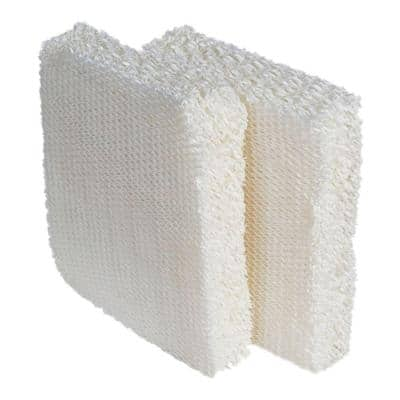 Evaporative Humidifier Replacement Wick Filters (2-Pack)
