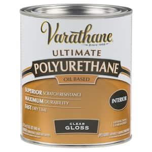 1 qt. Clear Gloss 275 VOC Oil-Based Interior Polyurethane (2-Pack)