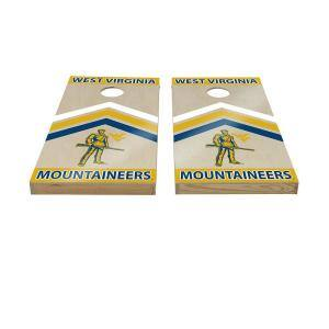 West Virginia Mountaineers Cornhole Set