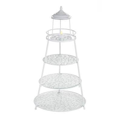 Coventry 3-Tier Lighthouse Serving Stand Gift Boxed