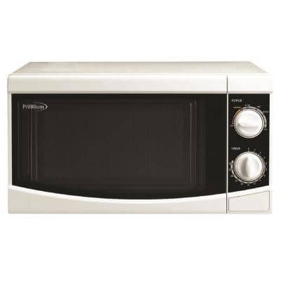 0.7 cu. ft. Counter top Microwave Oven in White