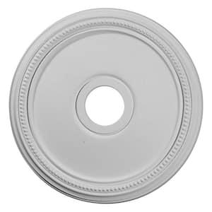 18'' x 3-5/8'' I.D. x 1-1/8'' Diane Urethane Ceiling Medallion (Fits Canopies upto 5-3/8''), Primed White