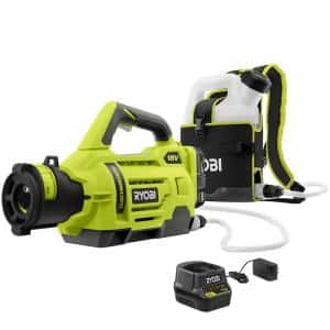 ONE+ 18V Cordless Electrostatic 1 Gal. Sprayer Kit with (2) 2.0 Ah Batteries and (1) Charger