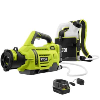ONE+ 18V Lithium-Ion Cordless Battery Electrostatic 1 Gal. Sprayer - (2) 2.0 Ah Batteries and (1) Charger Included