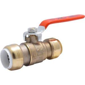 3/4 in. Push-to-Connect PVC IPS x 3/4 in. CTS Brass Ball Valve
