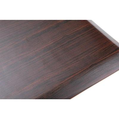 """Anti Fatigue 16.5"""" x 27"""" Dark Brown Foam Durable and Waterproof Comfort Floor, Kitchen, and Standing Mat"""