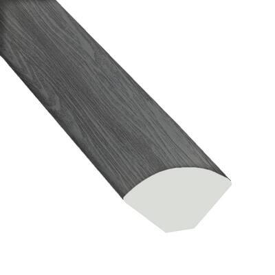 Bont Charcoal Oak 0.64 in. T x 0.625 in. W x 94 in. L Luxury Vinyl Quarter Round