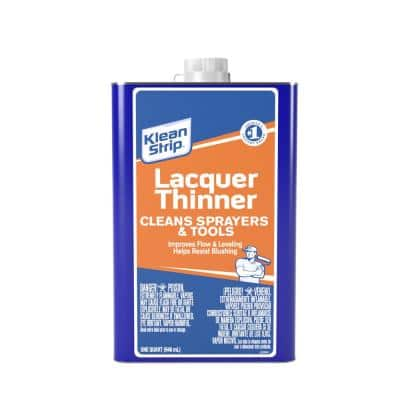 1 qt. Lacquer Thinner