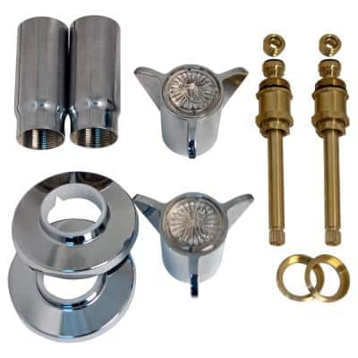 Tub and Shower Rebuild Kit for Sayco Space Age 2-Handle Faucets