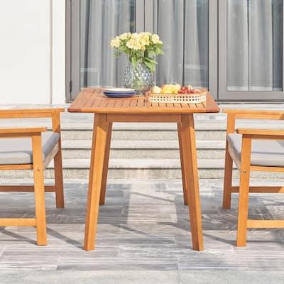 Waimea Rectangular Wood Outdoor Dining Table
