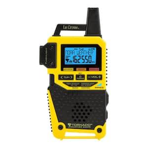 NOAA/AM/FM Weather Alert Radio with 1-Button Tornado Alert