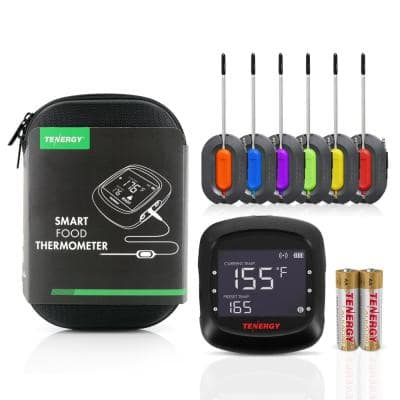 Solis Bluetooth Digital Food Thermometer with Six Probes