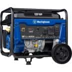 WGen5300v 6,600/5,300 Watt Gas Powered Portable Generator with RV and Transfer Switch Ready Outlets for Home Backup