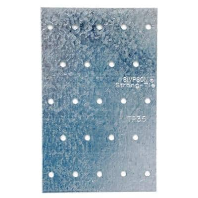 TP 3-1/8 in. x 5 in. 20-Gauge Galvanized Tie Plate