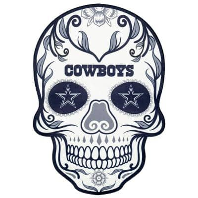 NFL Dallas Cowboys Outdoor Skull Graphic- Small